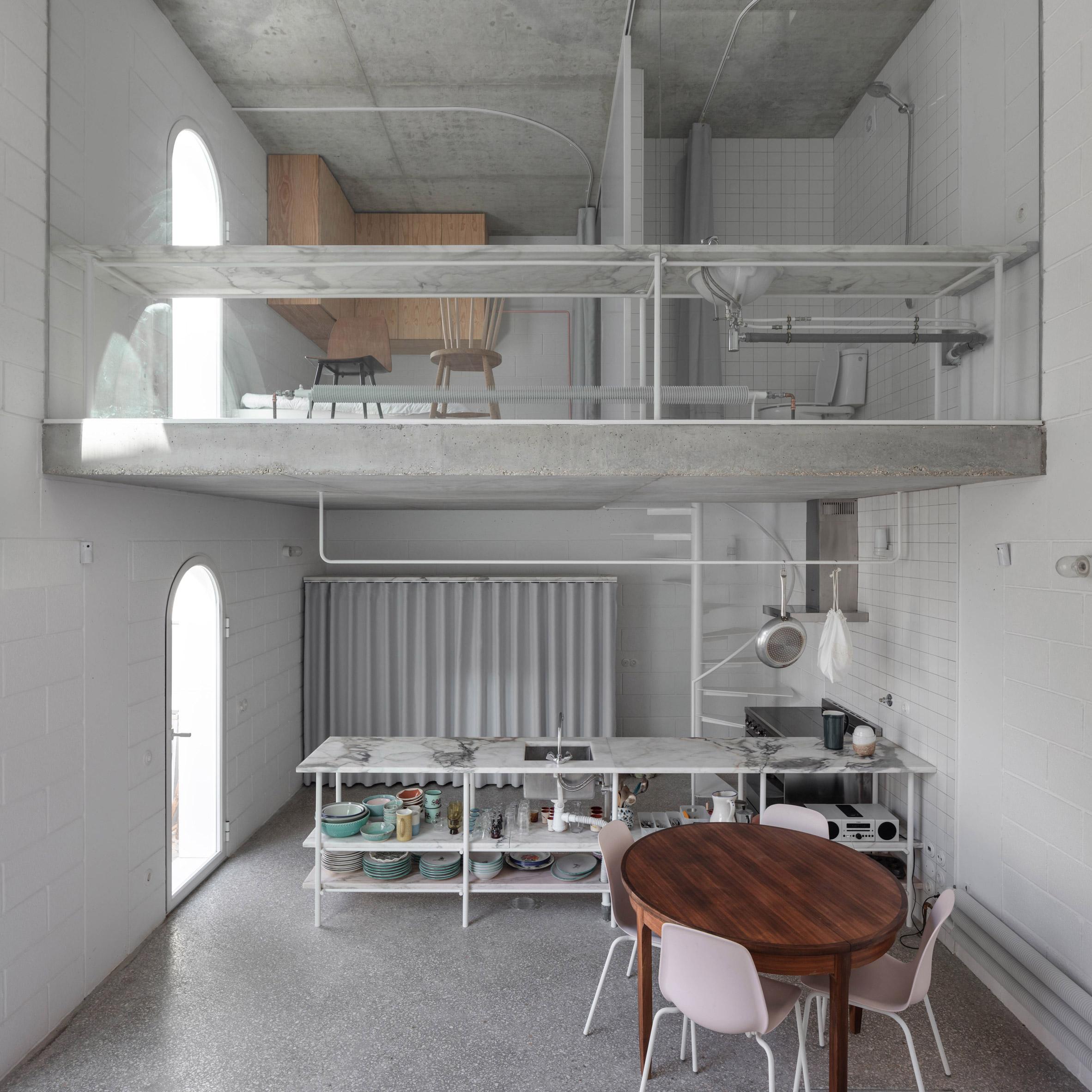 Dodge House by Leopold Banchini and Daniel Zamarbide