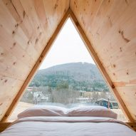 Eastwind Hotel in New York's Catskills features bunkhouse and glamping pods