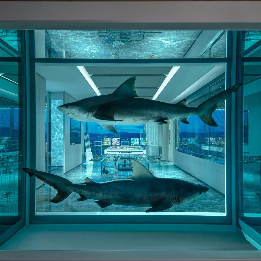 Damien Hirst creates 0,000-per-night hotel suite in Las Vegas