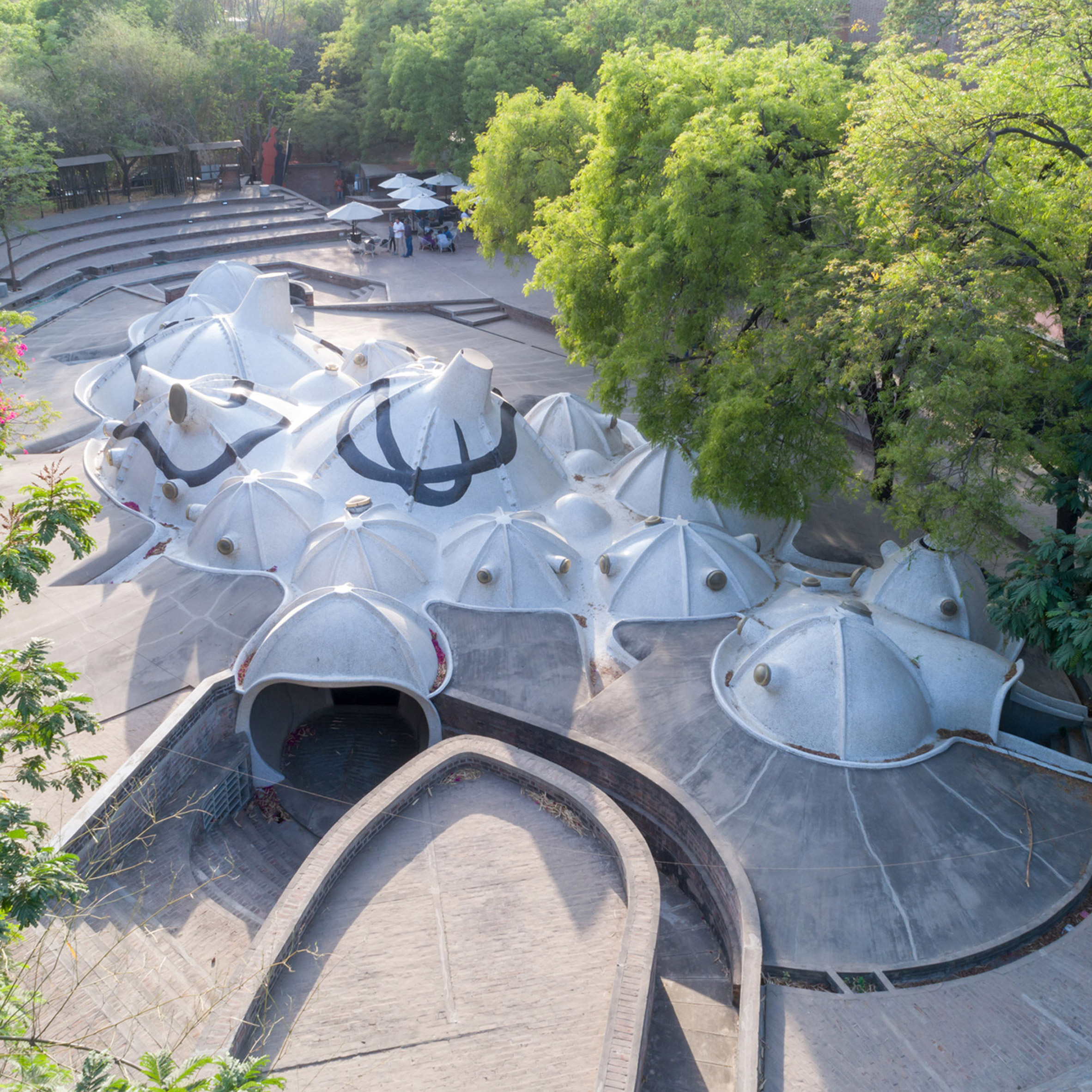 Exhibitions guide 2019 Balkrishna Doshi: Architecture for the People Vitra Design Museum