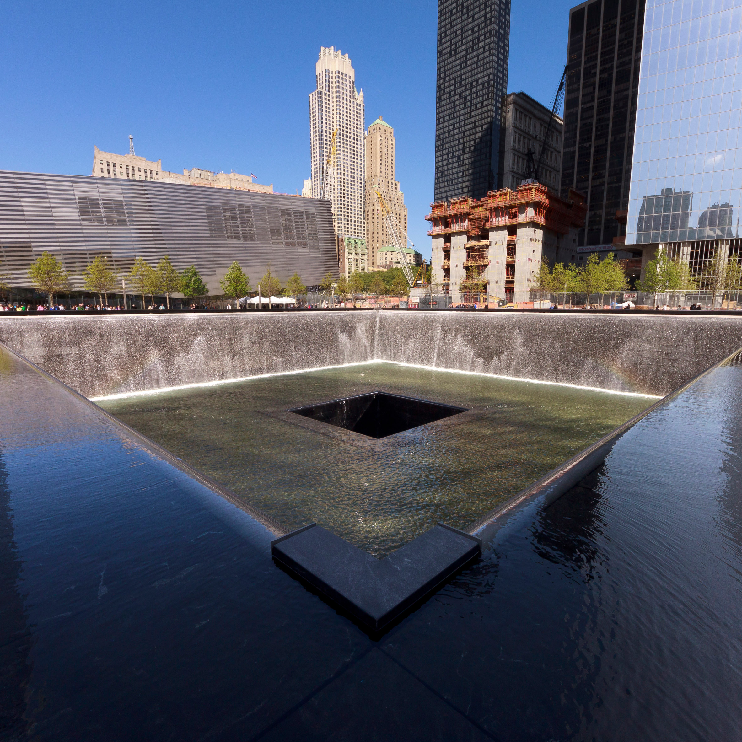 Waterfall architecture: 9/11 memorial