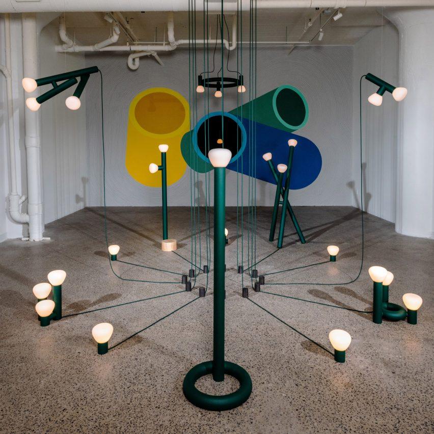 Lambert & Fils debuts playful light installation at its Montreal gallery