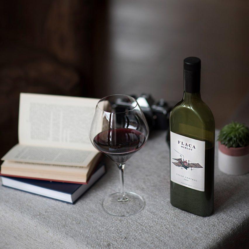 10 Flat Bottle Case Garcon Wines flat pack