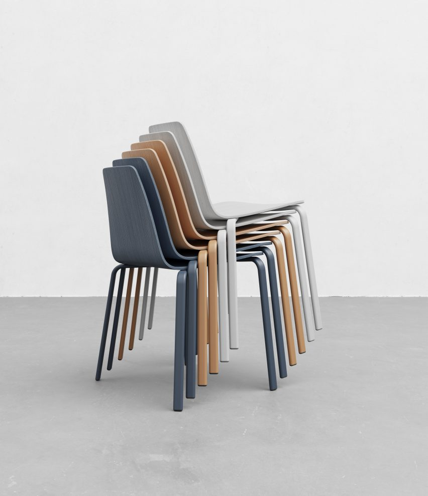Atal chairs by Form Us With Love for Alki