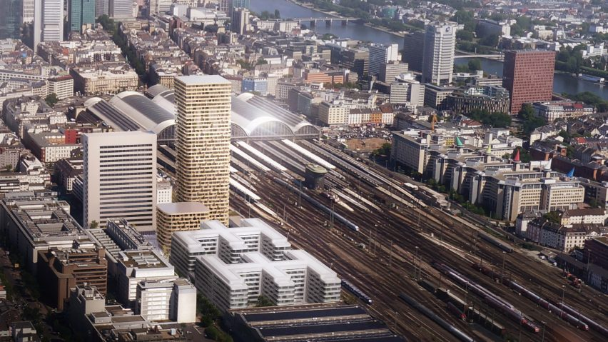 Frankfurt Grand Central by Mecanoo