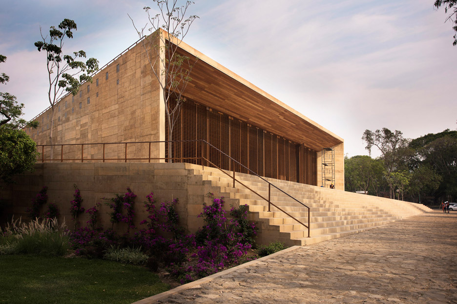 Frida Escobedo on Mexican architecture-Teopanzolco cultural centre by Isaac Broid and Productora