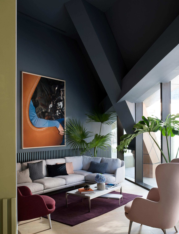 Interiors of Fritz Hansen Gallery Xi'an designed by Jaime Hayon