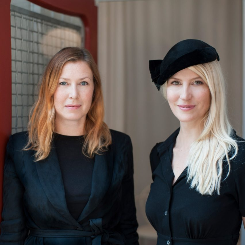 Portrait of Front co-founders Anna Lindgren and Sofia Lagerkvist