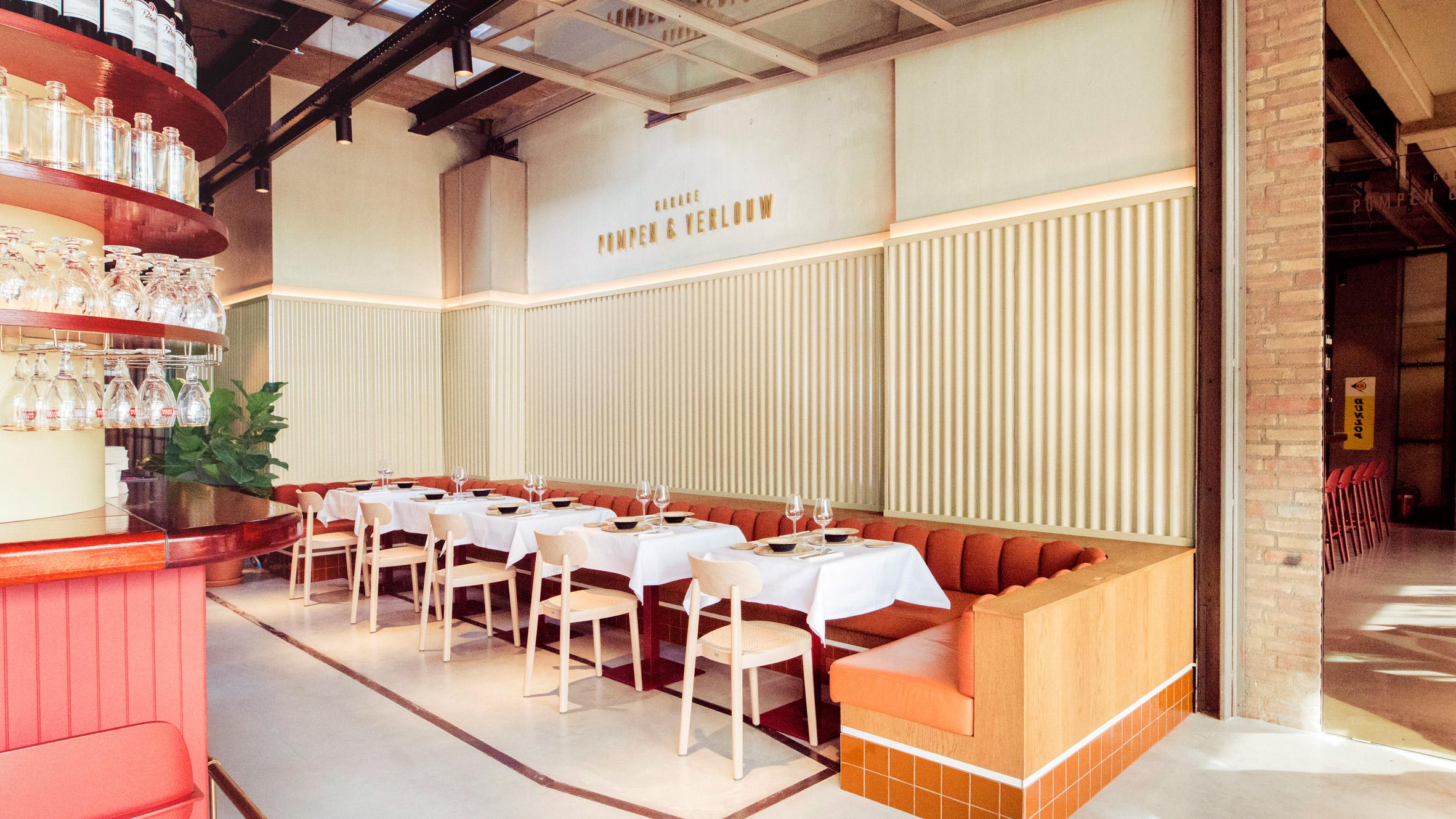 Garage Den Bosch : Vintage cars inform design of garage pompen & verlouw restaurant in