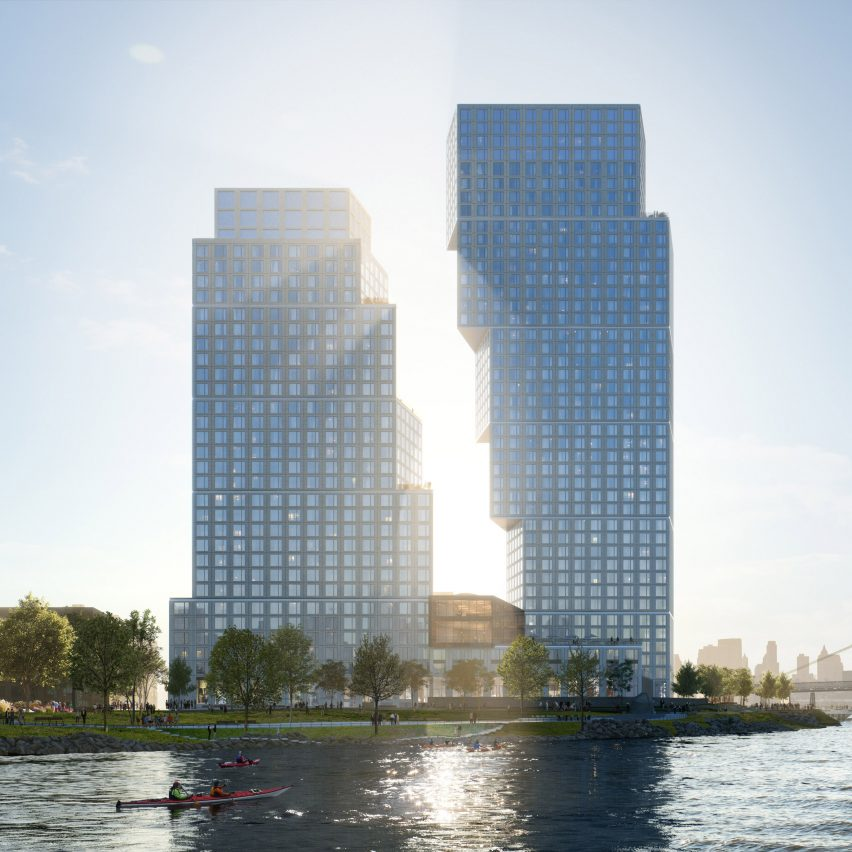Greenpoint Landing by OMA