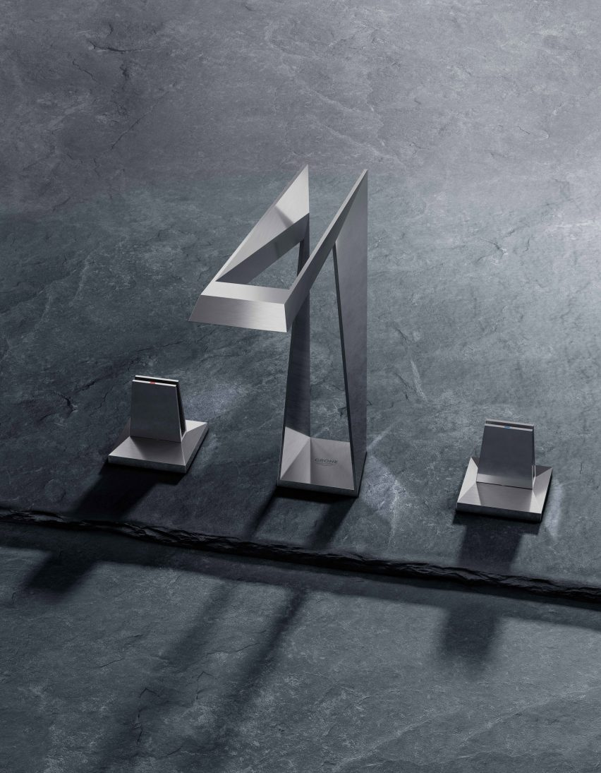 3D printed taps by Grohe: Atrio Icon 3D and Allure Brilliant Icon 3D