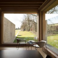 Interiors of Hampshire House by Niall McLaughlin Architects