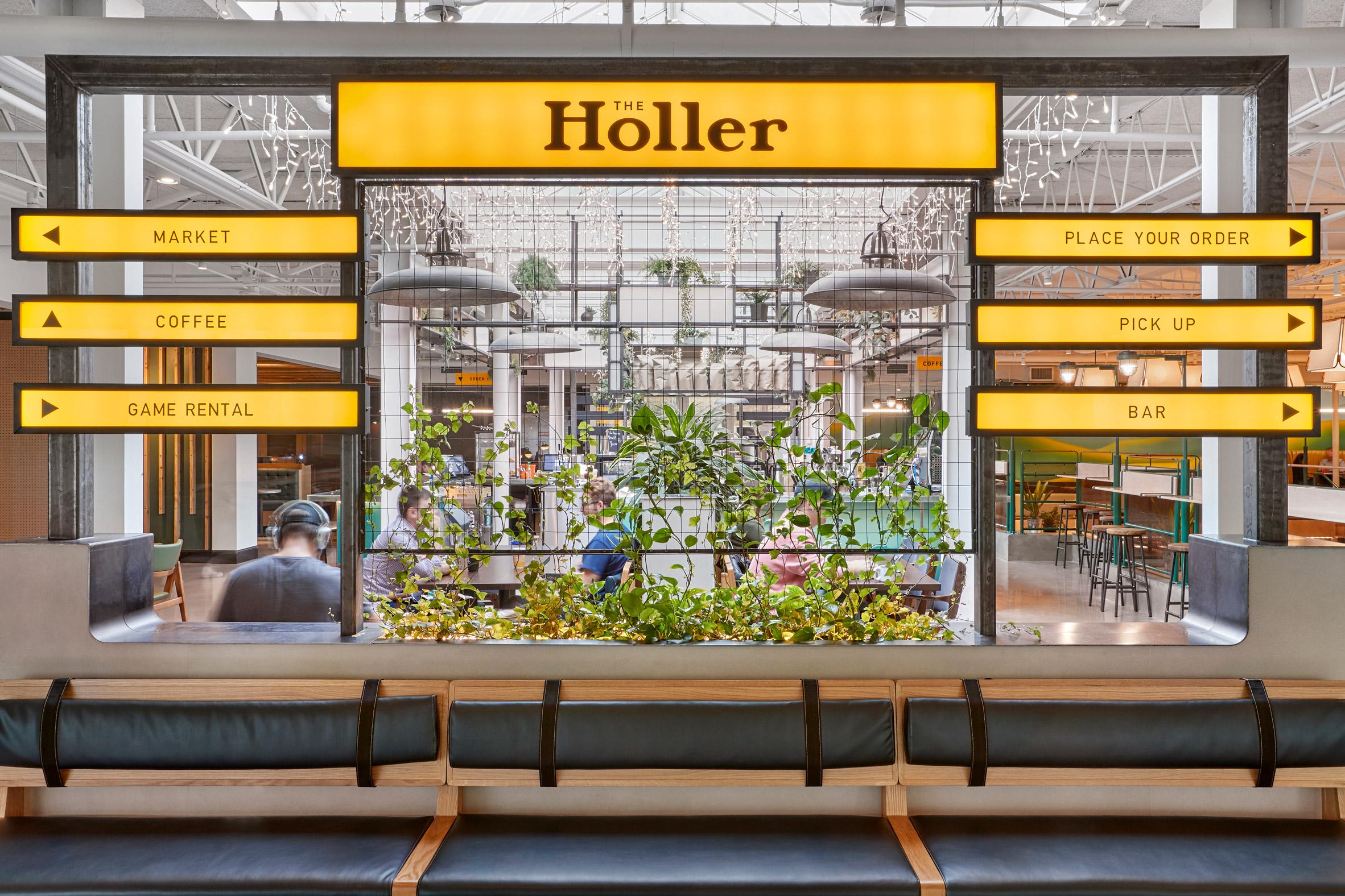 The Holler by Brand Bureau