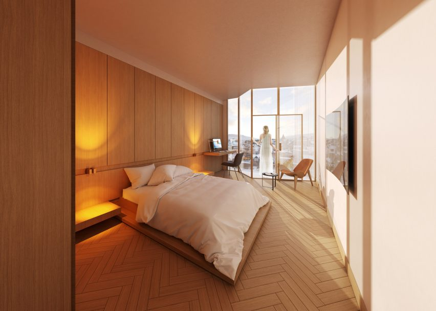 Visuals of Hotel Tórshavn extension by Henning Larsen
