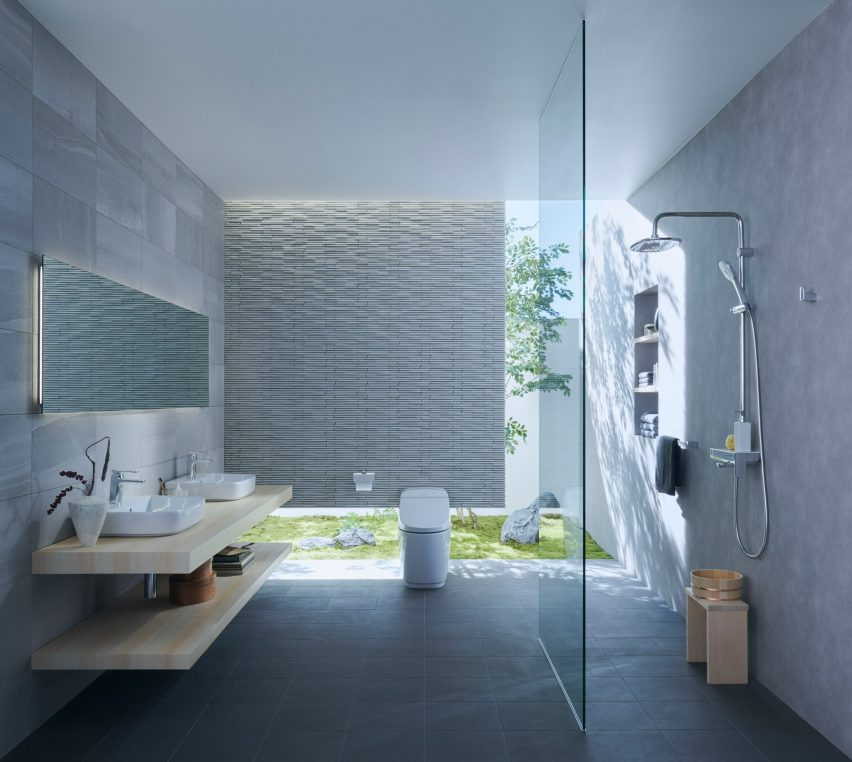 Latest Bathroom Design The Rituals of Water bathroom collection by INAX