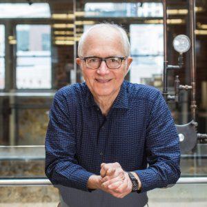 Portrait of Dezeen Awards 2019 judge Jim Olson