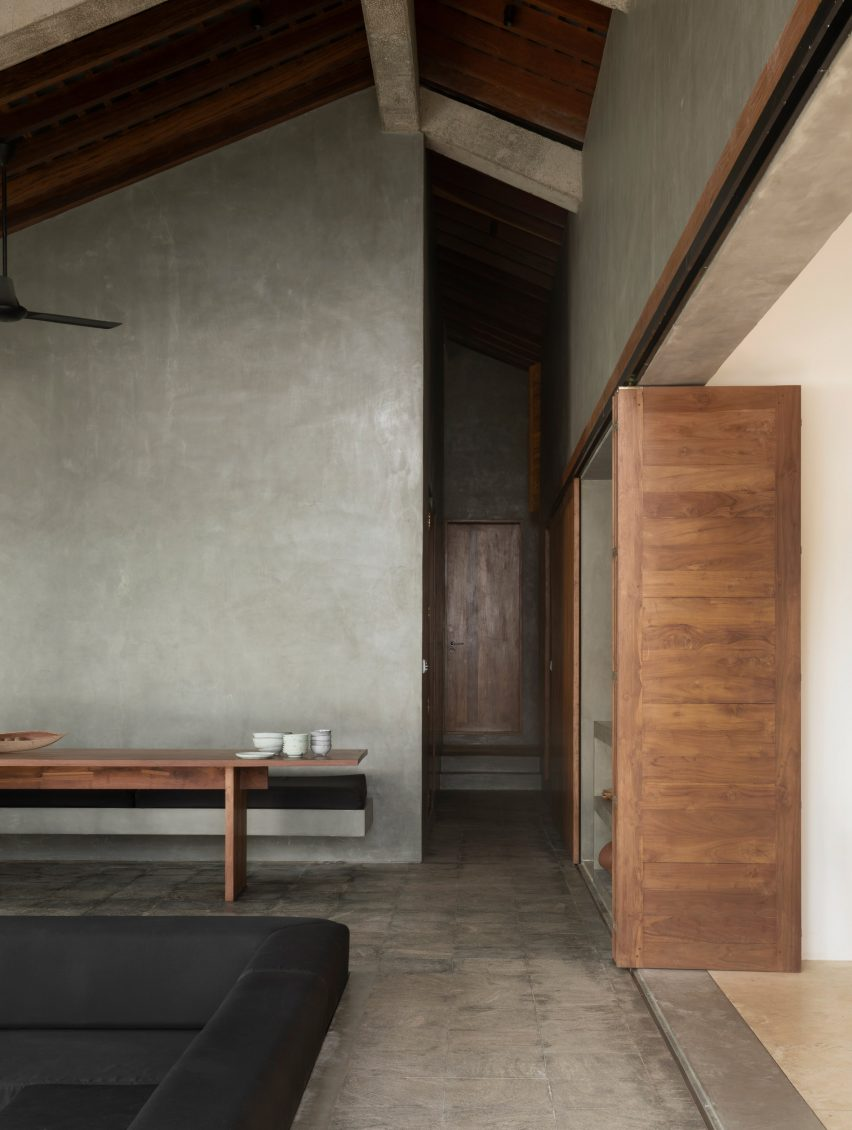 Concrete Surfaces Evoke Rough Luxury Inside Sri Lanka S K