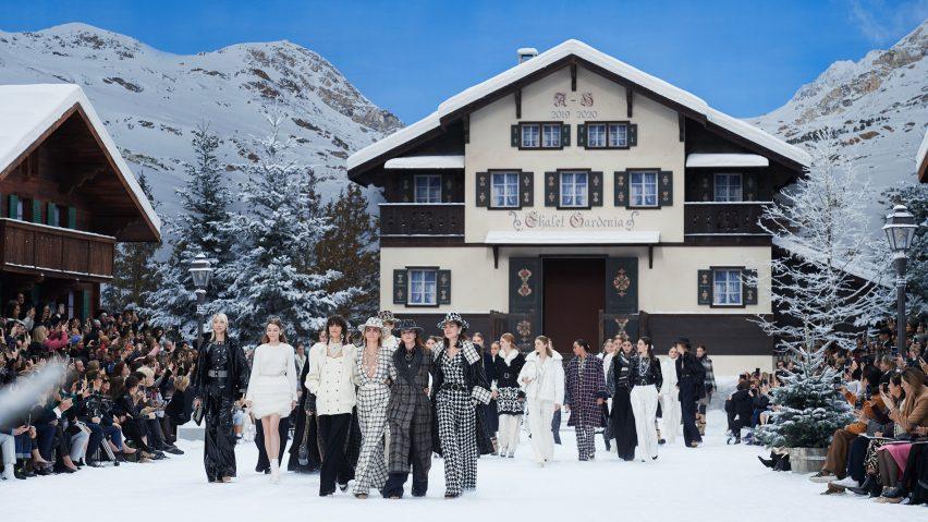 Karl Lagerfeld final Chanel show