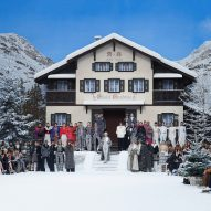 Karl Lagerfeld's final Chanel show is a snowy alpine wonderland