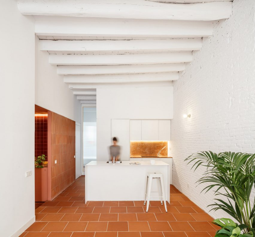 Interiors of La Odette apartment by Crü