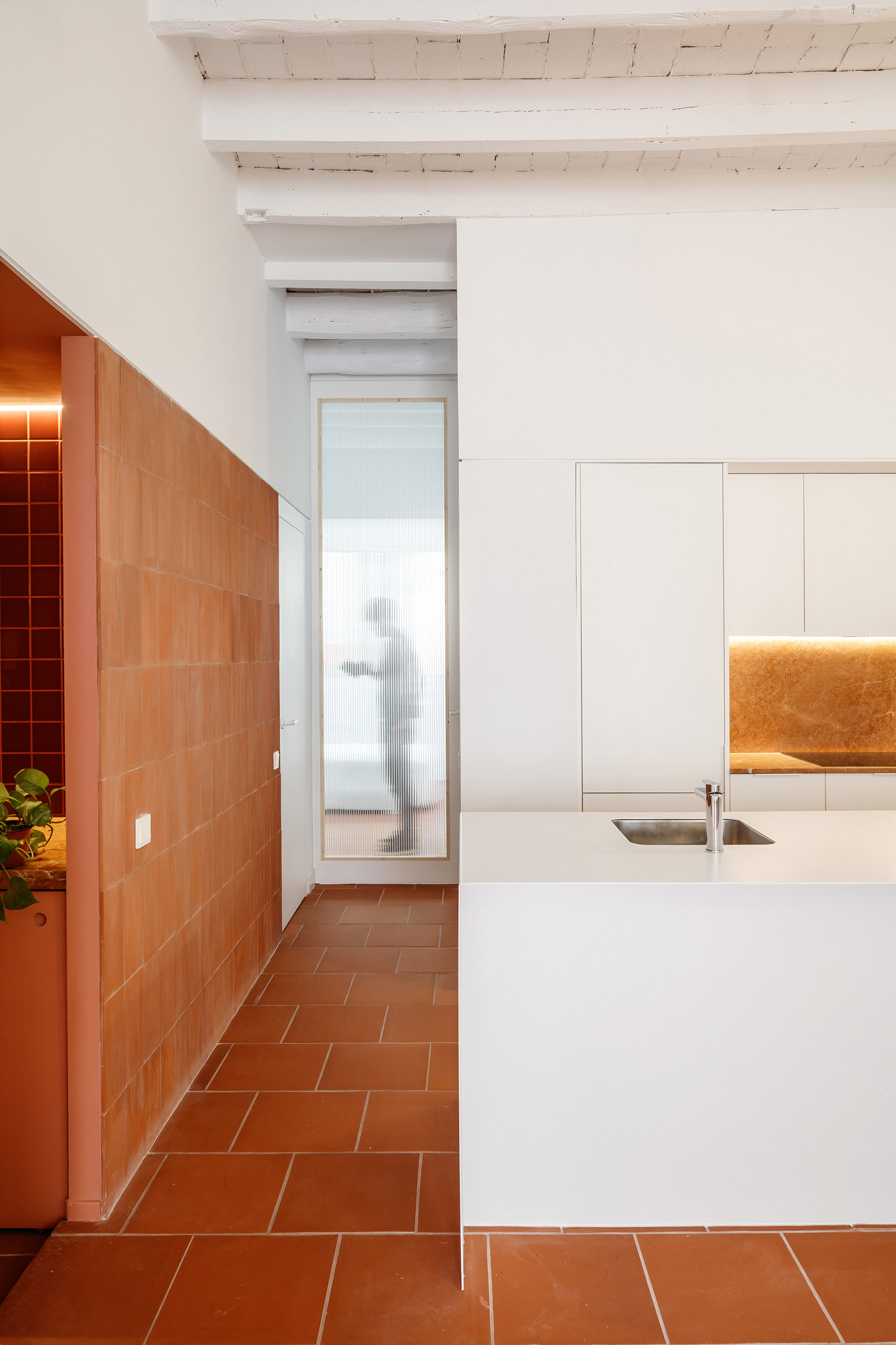 Interiors of La Odette apartment by Crü