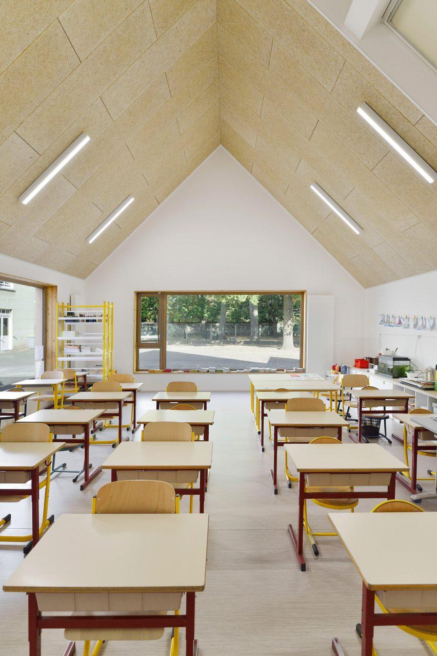 Interiors of La Ruche by Tracks Architectes