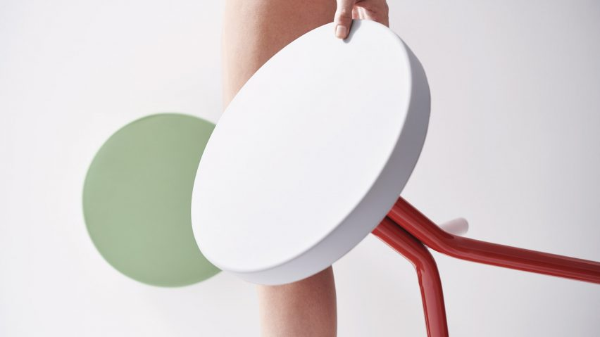 Nicola Golfari designs Lifetools objects for people with disabilities