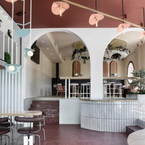 Portal bar in Stockholm by Claesson Koivisto Rune designed to