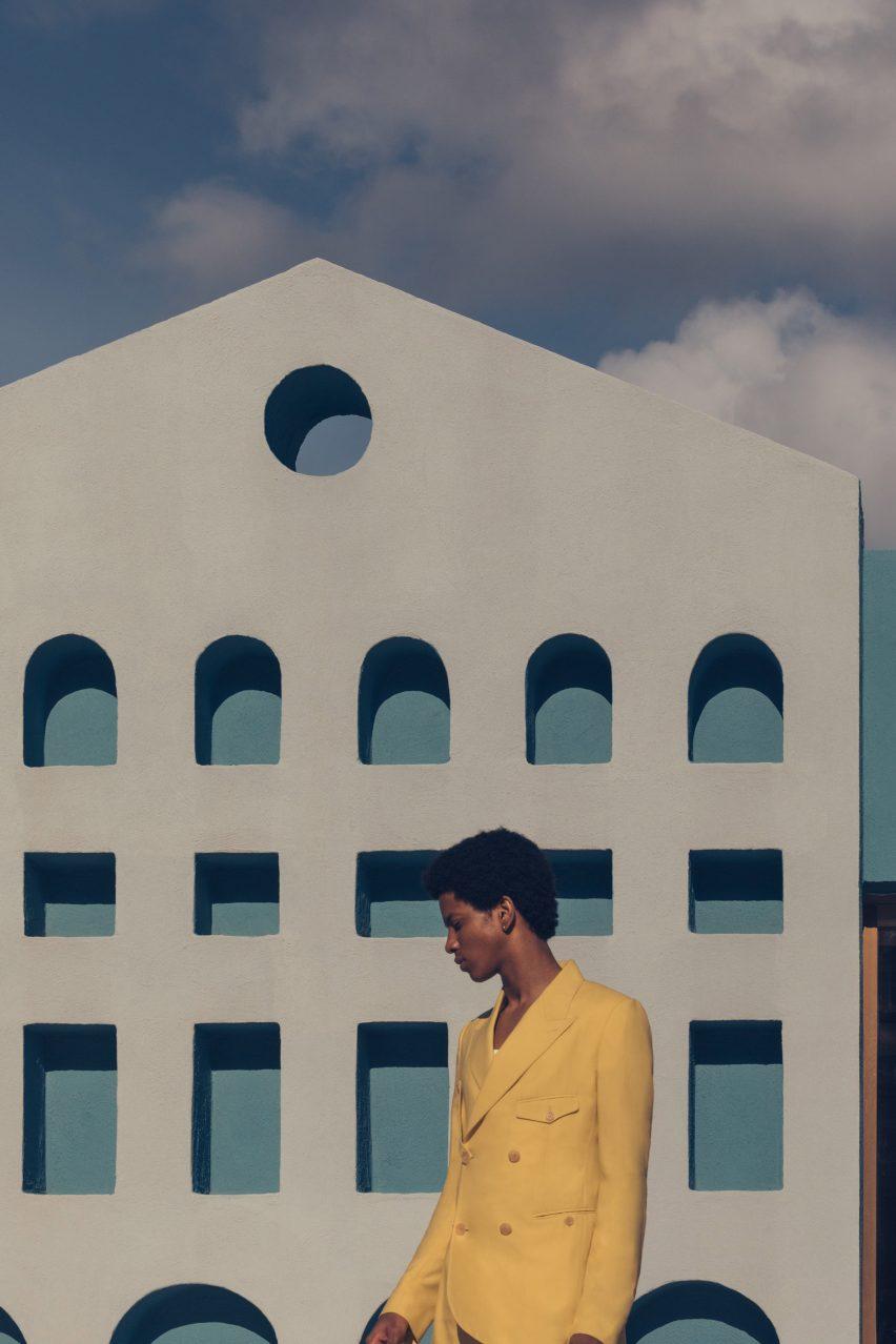 Luis Barragán-style fashion editorial Lucid Dreams by Romain Laprade