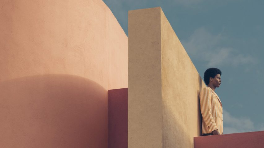 Luis Barragán-style fashion editorial Lucid Dreams by Romain Laprade
