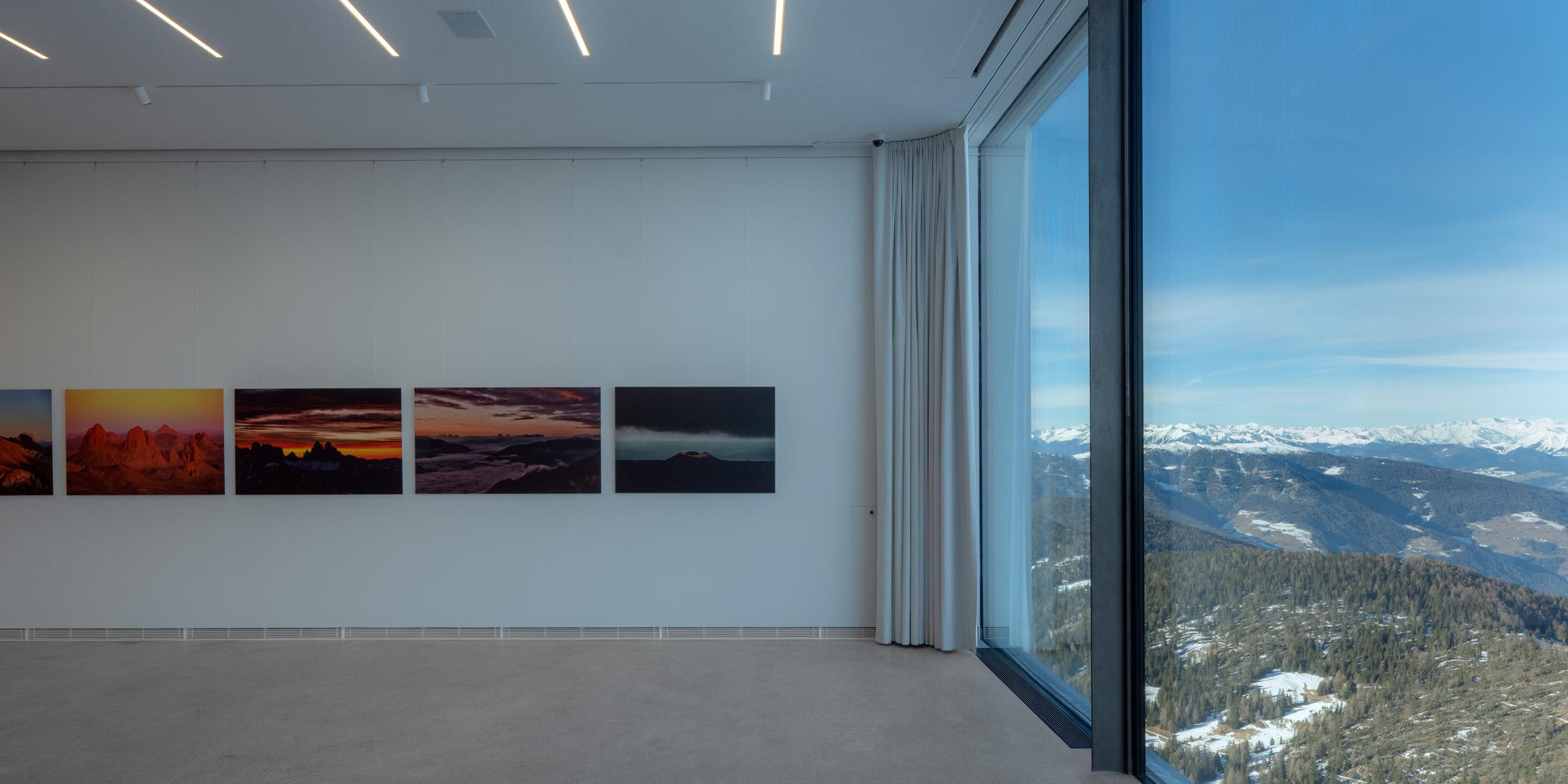 Interiors of Lumen Museum of Mountain Photography by Gerhard Mahlknecht of EM2