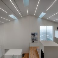 Interiors of Lumen Museum of Mountsin Photography by Gerhard Mahlknecht of EM2