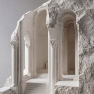 Matthew Simmonds explores historic architecture in stone sculptures