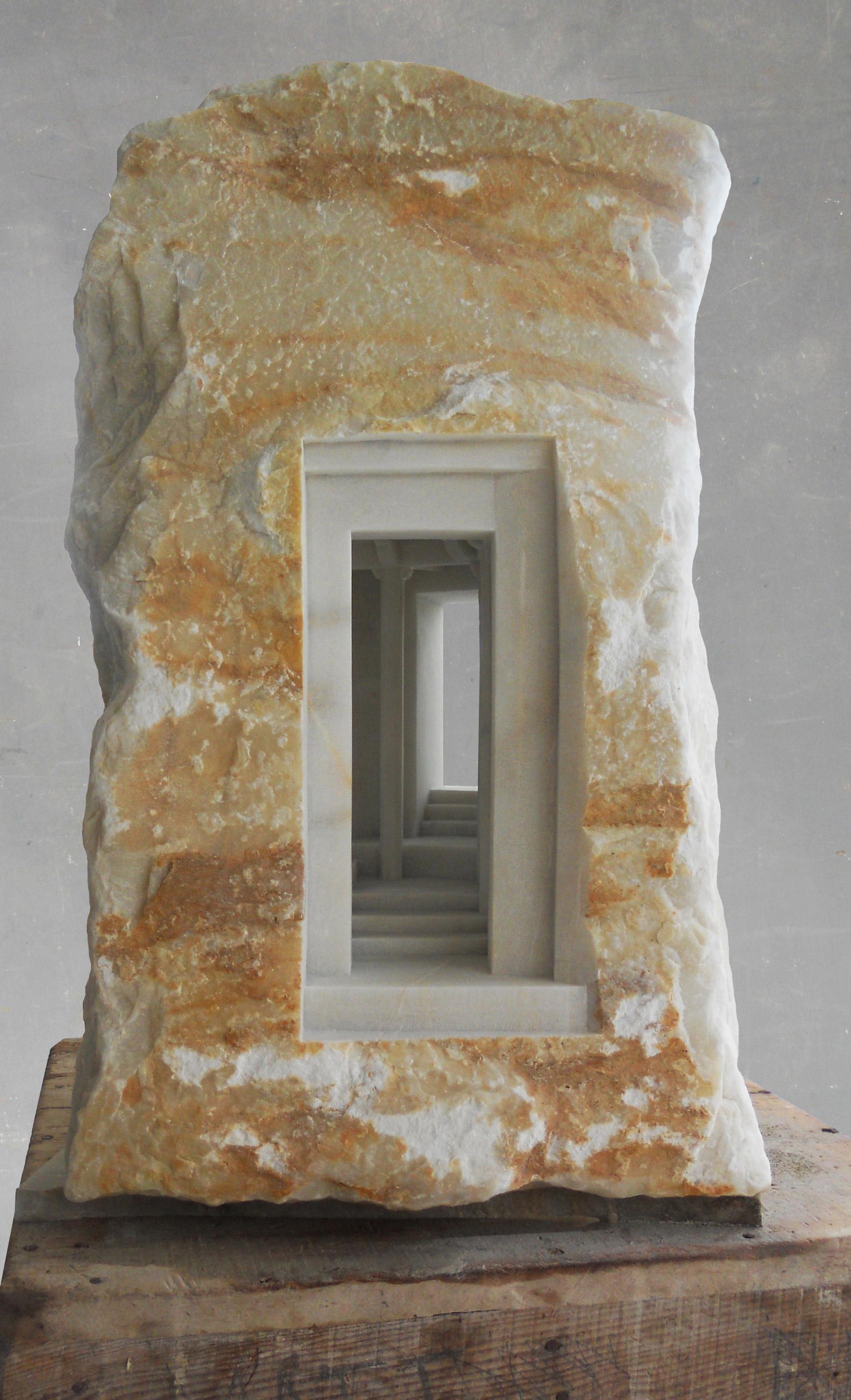 A sculpture from Matthew Simmonds Trilogy series