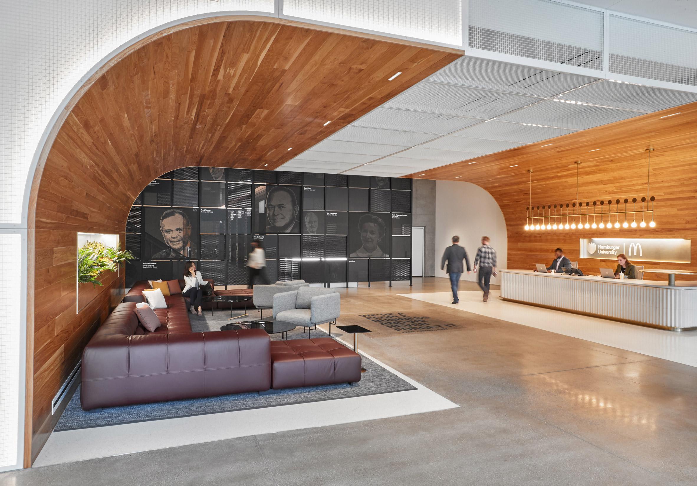 McDonald's Headquarters by IA Interior Architects and Studio O+A