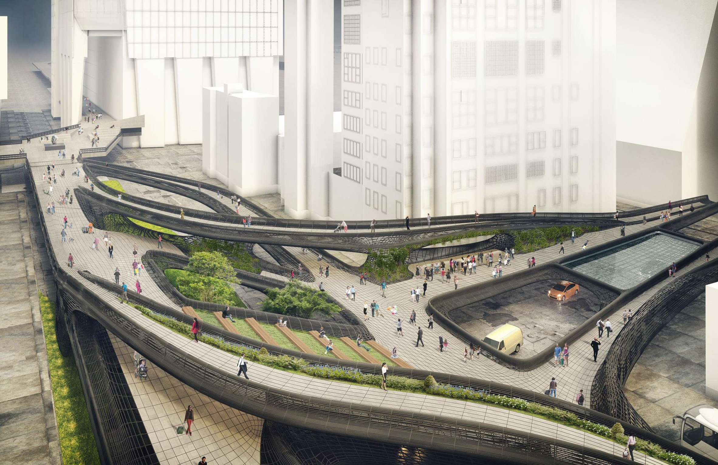 Midtown Viaduct by DXA Studio