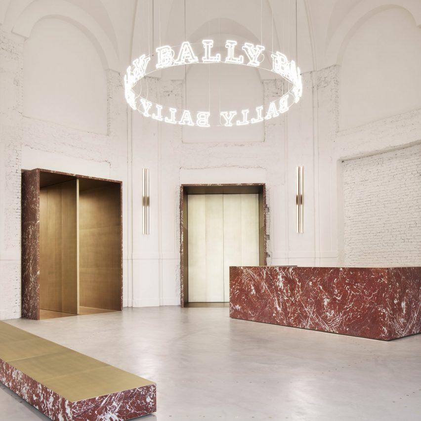 Milan travel guide: Bally showroom by Storagemilano
