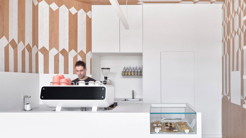 Milky's coffee bar by Batay-Csorba Architecture
