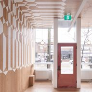 Batay-Csorba designs Milky's coffee bar in Toronto without furniture