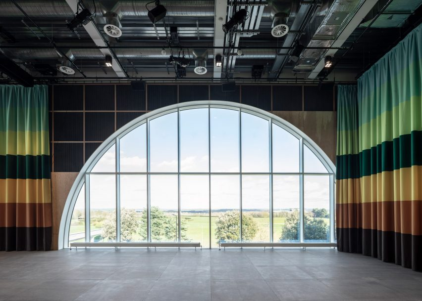 MK Gallery renovation by 6a Architects in Milton Keynes, England