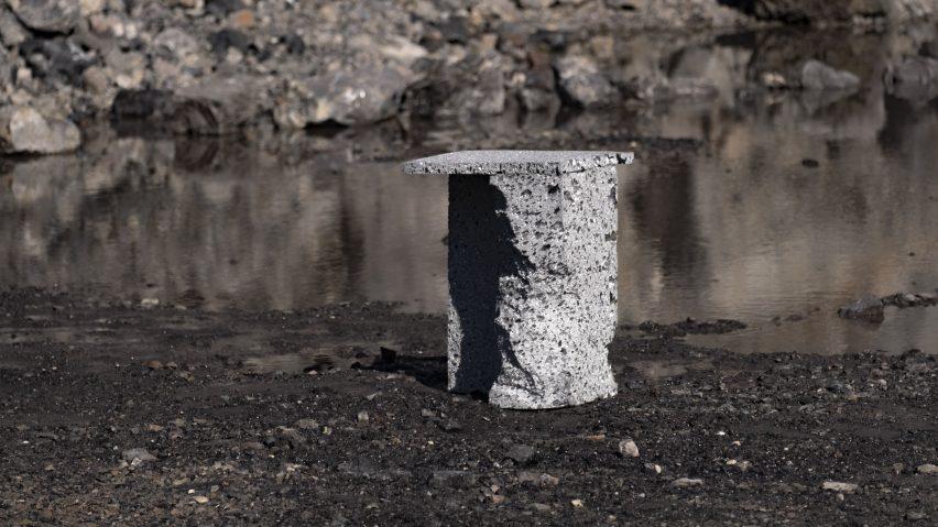 Moon Rock Furniture, Flat Rock Furniture