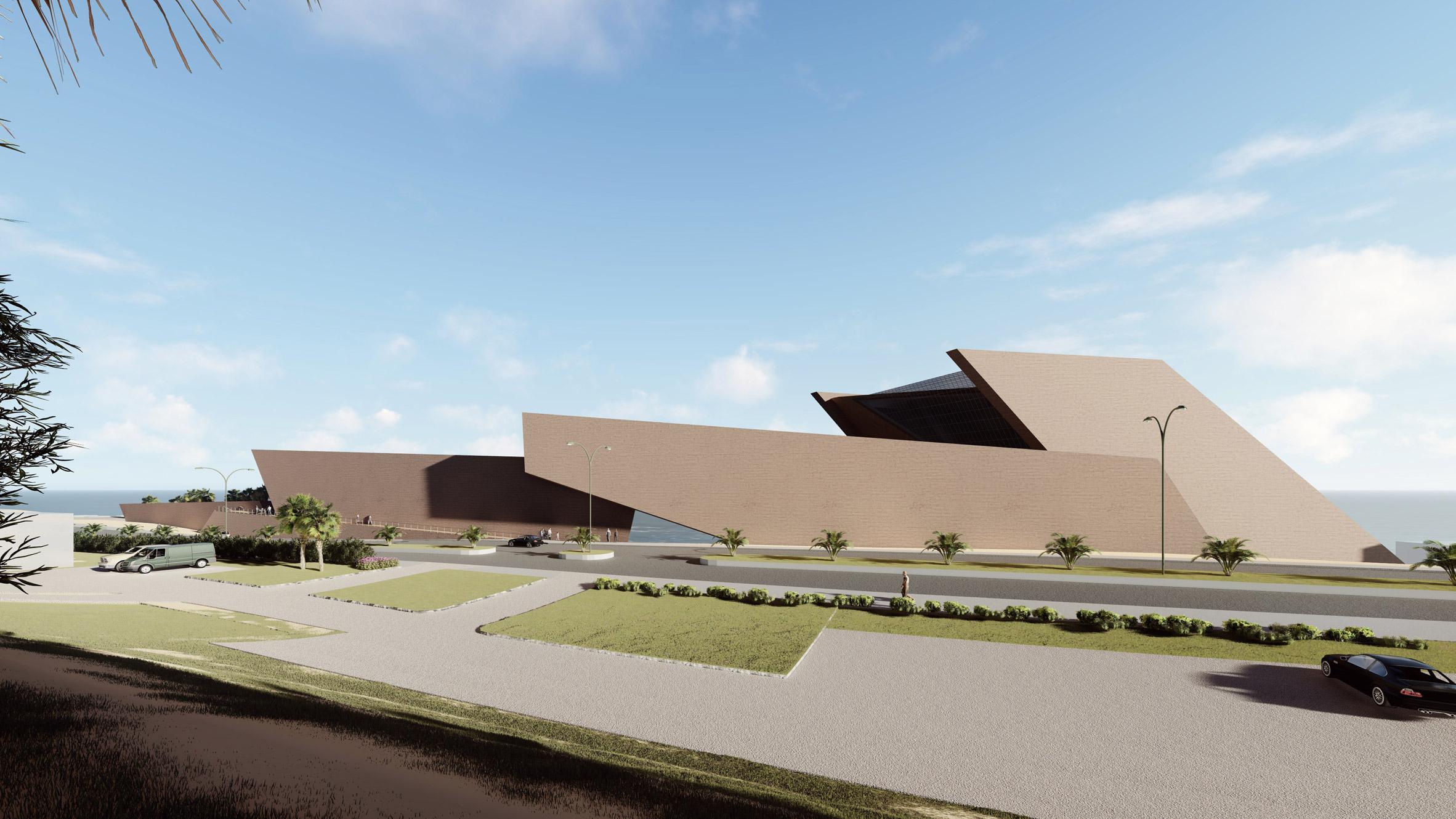 Museo Regional de Tarapaca by Studio Libeskind