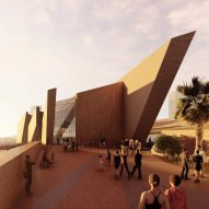 Daniel Libeskind designs angular archeology museum for northern Chile