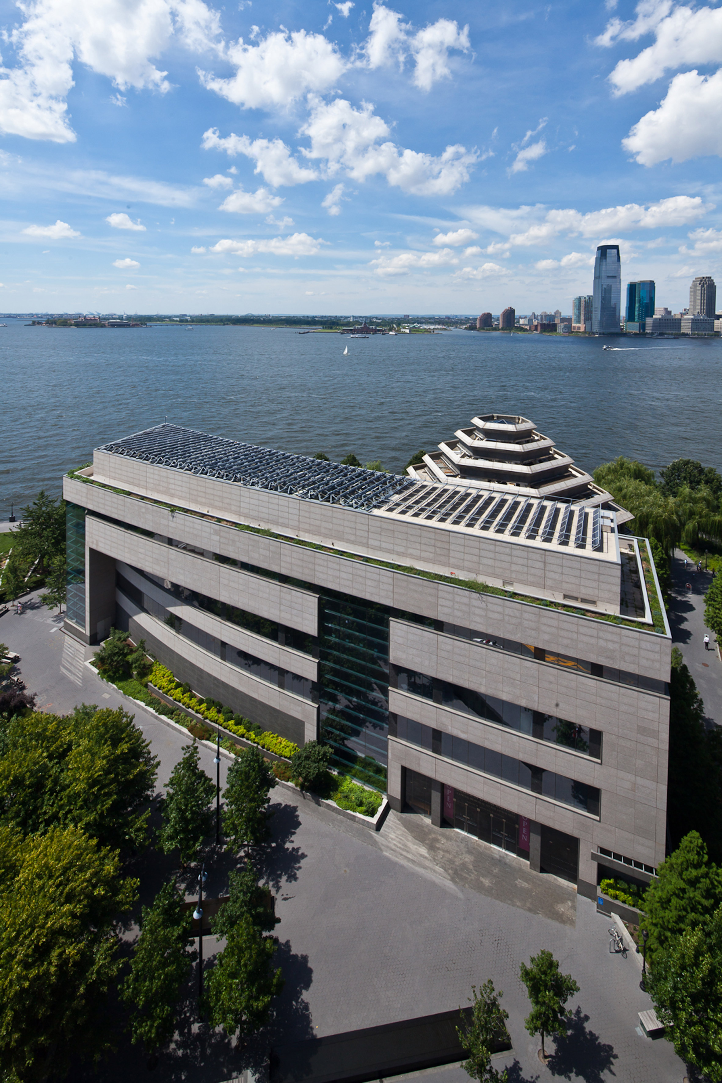 The Museum of Jewish Heritage by Kevin Roche and John Dinkeloo