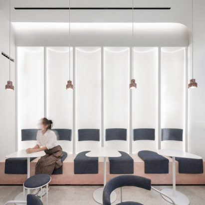 N² patisserie in Hangzhou, designed by YPYC Architects