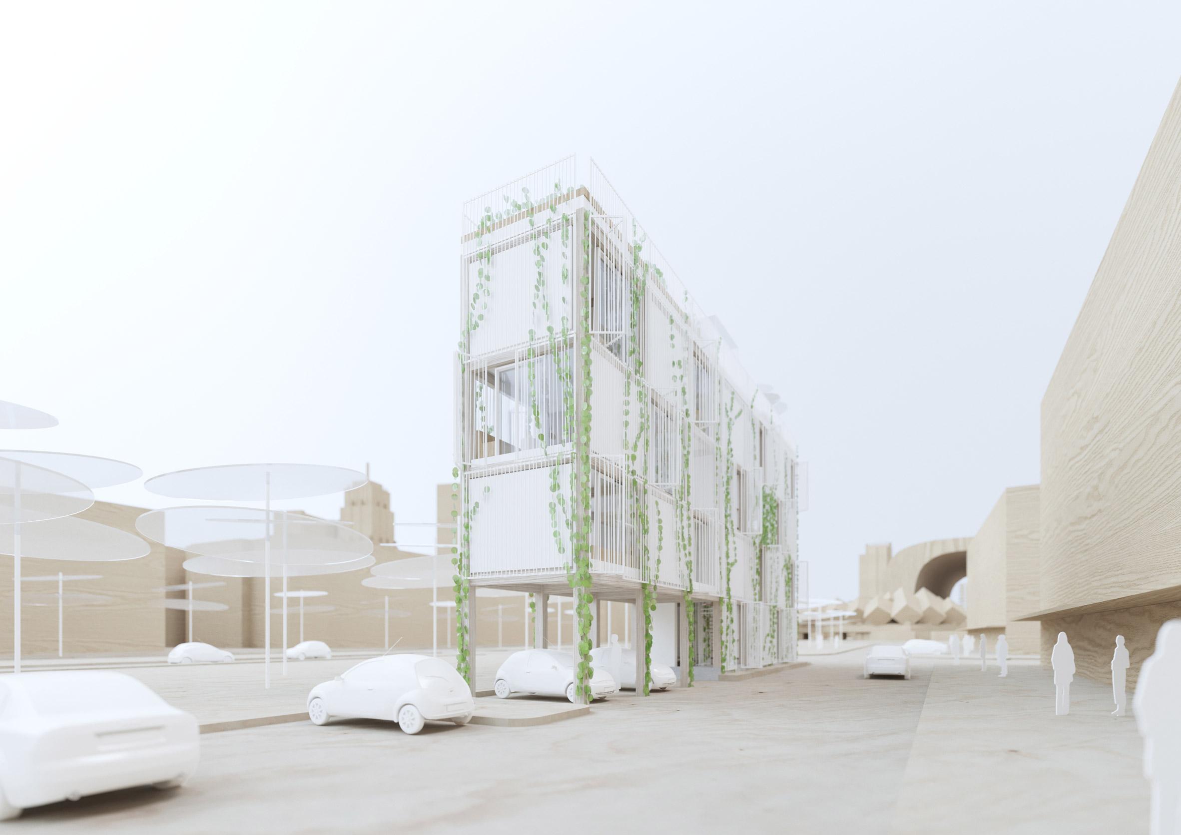Narrow House by White Arkitekter