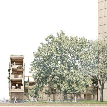 Narrow House by White Arkitekten