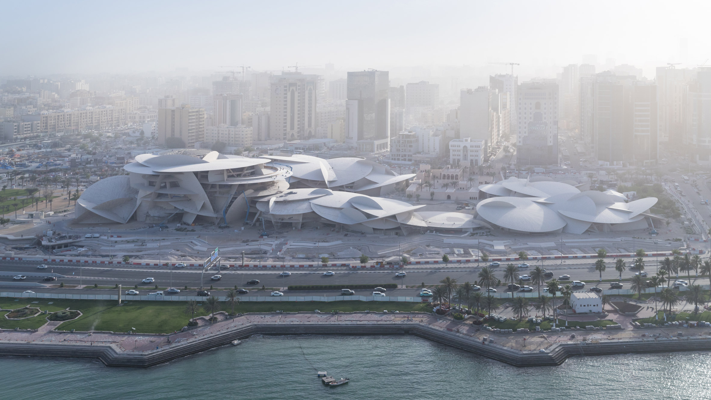 Atelier Jean Nouvel completes National Museum of Qatar in Doha