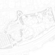 Roof plan of National Museum of Qatar in Doha by Ateliers Jean Nouvel