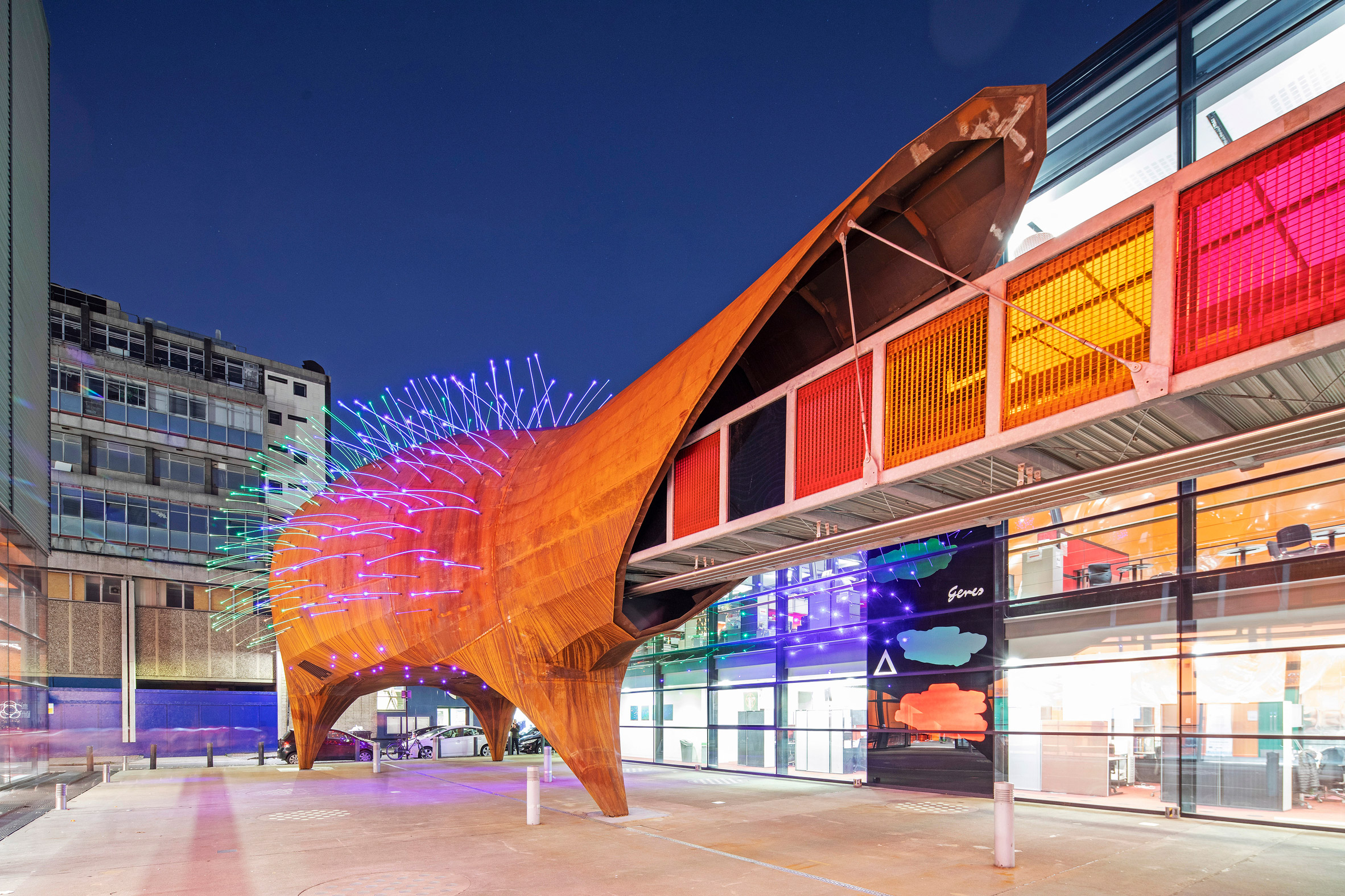 Neuron Pod science education centre at Centre of the Cell by Will Alsop for his practice All Design